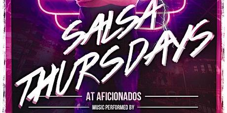 SALSA Thursdays @ Aficionados tickets