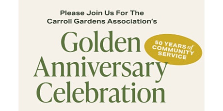 Golden Anniversary Celebration: An Awards Dinner to Benefit CGA's Programs tickets