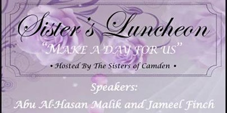 Make A Day For Us Sisters Luncheon tickets