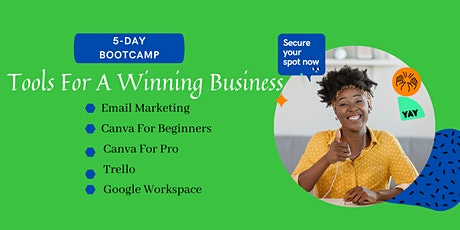 Five Winning Tips and Tools for Businesses tickets