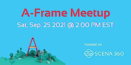 A-Frame Community Meetup tickets