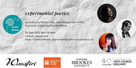 Poetics of Home: Experimental Poetics tickets