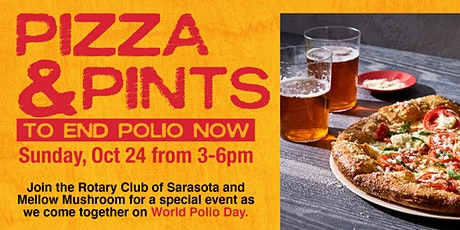 Pizza and Pints to End Polio Now tickets