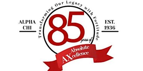 Alpha Chi - 85th Anniversary Celebration tickets