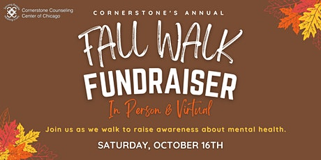 Cornerstone's Annual Fall Walk '21 tickets