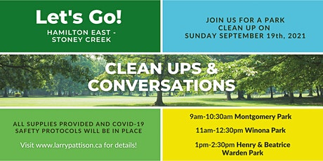 CLEAN UPS AND CONVERSATIONS tickets