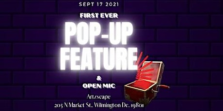 POP-UP FEATURE DELAWARE tickets