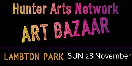 Hunter Arts Network Art Bazaar Christmas market Sunday 28 November 2021 tickets