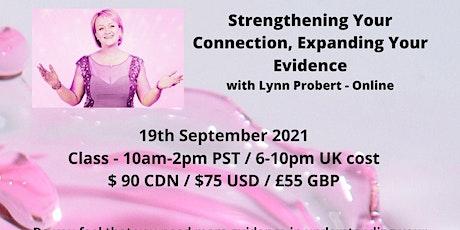 Sunday Mediumship Workshop ONLINE with Lynn Probert Sept. 19 10 am pst tickets