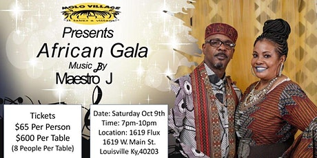 MOLO Village  African Gala Featuring Music by Maestro J tickets