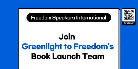 """Launch Team for """"Greenlight to Freedom"""" tickets"""