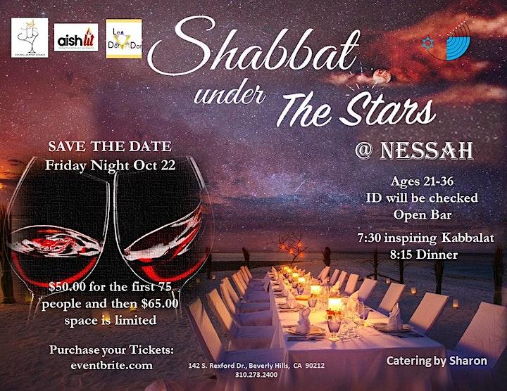Shabbat under the Stars image