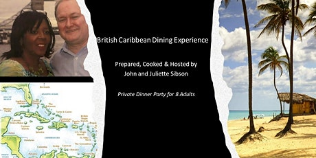 British Caribbean Dinning Experience for Charity tickets