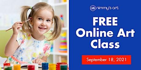 Free Online Art Class for Kids - September 18, 2021 tickets