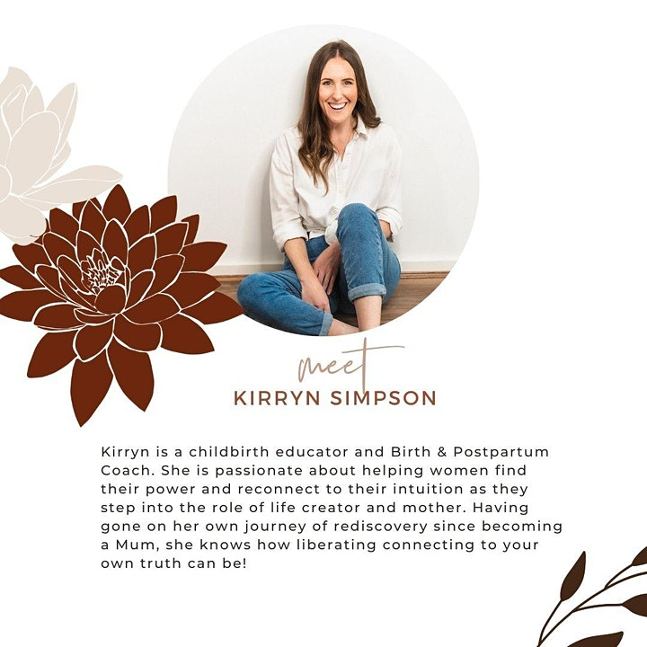 Nurturing YOU Online Pregnancy Workshop image