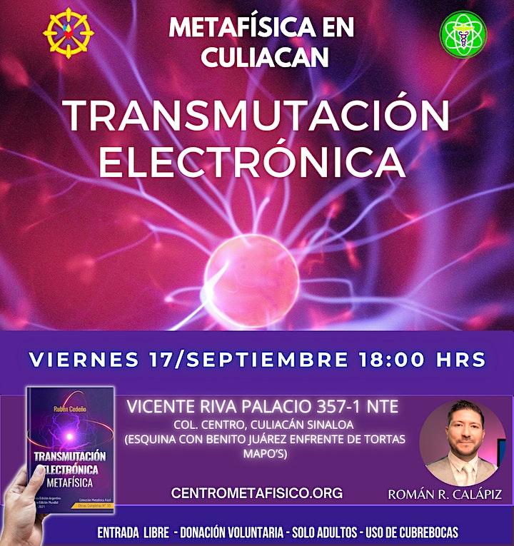 Imagen de TRANSMUTACIÓN ELECTRÓNICA METAFÍSICA- Metafísica en Culiacán