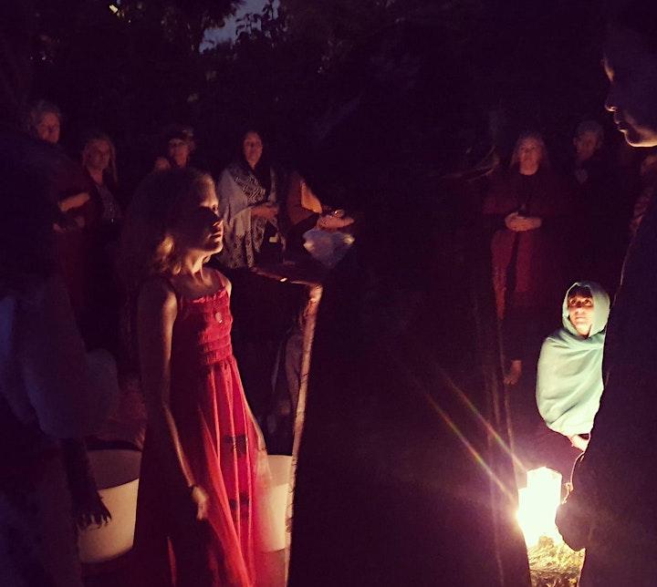 1000 Goddesses ONLINE Ceremony Auckland - The Creatrix Returns 23.10.2021 image