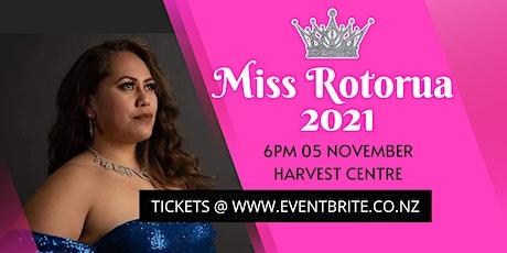 MISS ROTORUA 2021 tickets