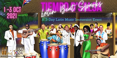 Latin Beat Sparks - POSTPHONED to 2022. WORKSHOP ON 1 Oct 2021 CONTINUES tickets