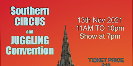 Southern Circus and Juggling Convention tickets