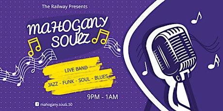 The Railway Blackheath presents - Mahogany Soulz- LIVE BAND tickets