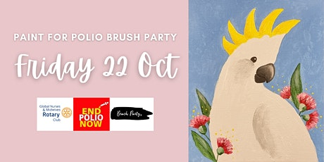 Paint for Polio Brush Party tickets