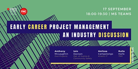 Early Career Project Management - An Industry Discussion tickets