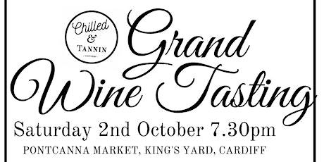 Chilled & Tannin Grand Wine Tasting tickets
