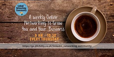 LinkedIn Community Networking Event Nottingham tickets