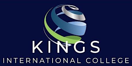 Kings International College school tours tickets