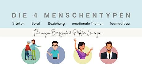 Die 4 Persönlichkeitstypen nach DISG/ Farbmodell, Stärken Liebe & Beziehung Tickets