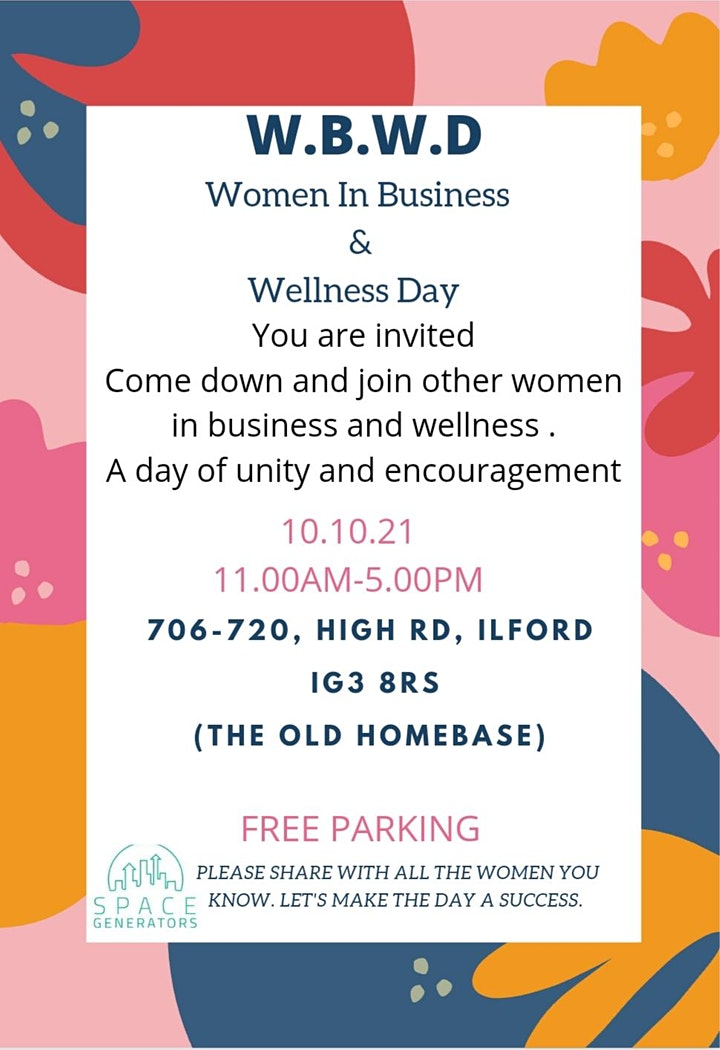 W.B.W.D  WOMEN IN BUSINESS AND WELLNESS DAY image