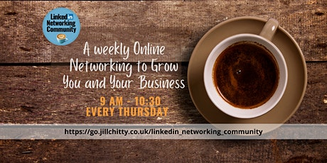 LinkedIn Morning Community Networking Event tickets