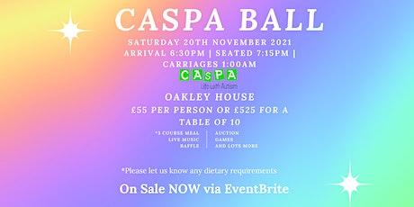 CASPA Ball 2021 tickets