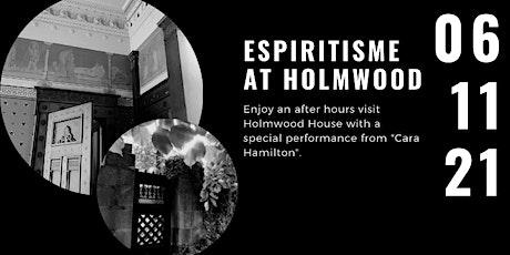 Spiritism at Holmwood tickets