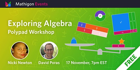 Exploring Algebra on Polypad with Guest Dr. Nicki Newton tickets
