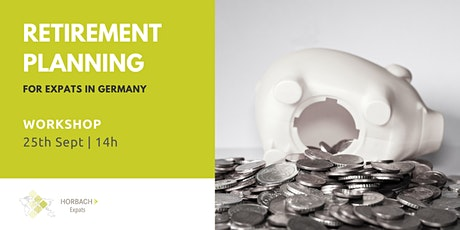 Pension Planning in Germany tickets