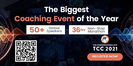 Biggest Coaching Event of 2021   The Coaching Conclave tickets