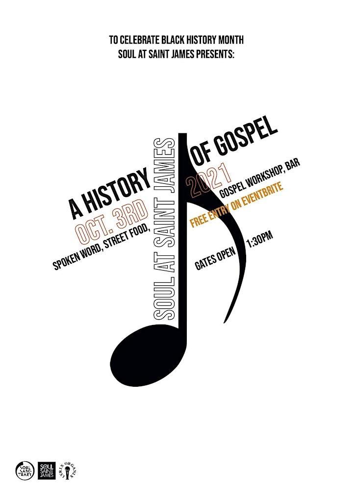 SOUL AT SAINT JAMES - A HISTORY OF GOSPEL image