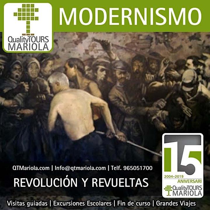 Imagen de Visitas guiadas revolución, lucha de clases y modernismo.