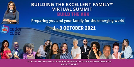 """Cedarcube's Virtual Summit: Building the Excellent Family """"Build the Ark"""" tickets"""