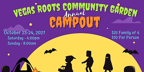 2021 Annual Campout in the Garden tickets