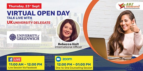 Virtual Open Day of the University of Greenwich tickets