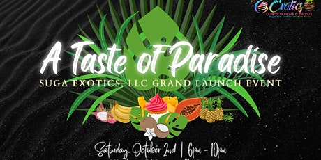 A TASTE OF PARADISE  |  @ PRIVACY LOUNGE ATL  |  Hosted By @taviadartist tickets