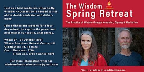 The Wisdom Spring Retreat tickets