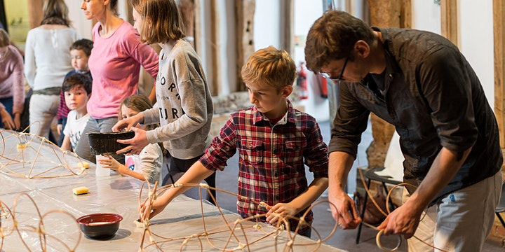 Fishing Trip- fun Mackerel lantern making workshop image