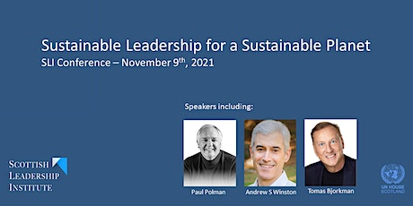 Sustainable Leadership for a Sustainable Planet tickets