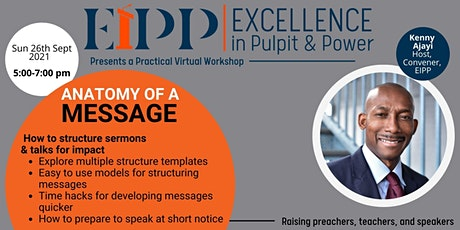 EXCELLENCE IN PULPIT & POWER: Seminar and Training for Teachers & Speakers tickets