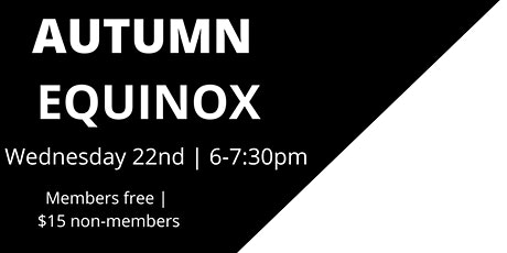 Autumn Equinox at YogaSix West University tickets