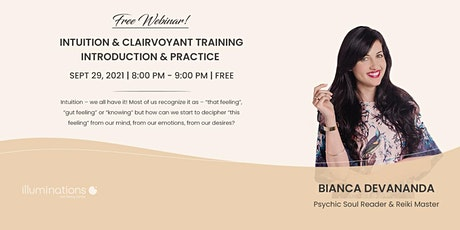 Free Webinar: Intuition & Clairvoyant Training Introduction and Practice tickets